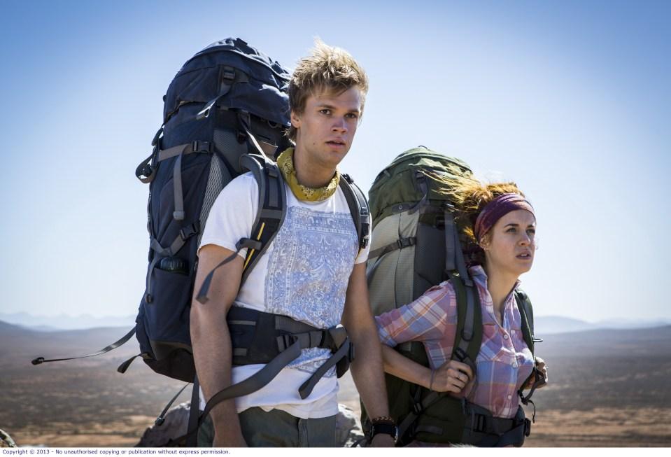 WolfCreek2_L-R Phillipe Klaus as Rutger and Shannon Ashlyn as Katarina