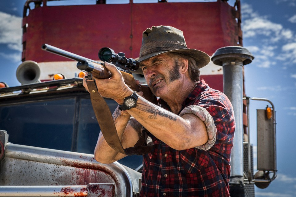 WolfCreek2_John Jarratt as Mick Taylor 10