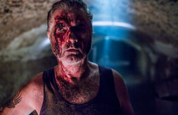WolfCreek2_John Jarratt as Mick Taylor_ in the lair tunnels 2
