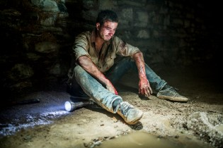 WolfCreek2_Ryan Corr as Paul_ in the lair tunnels 3