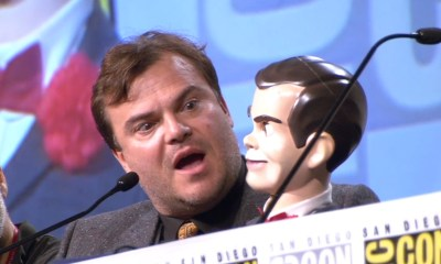 Jack Black Goosebumps Comic Con