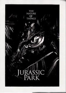 John Alvin - Jurassic Park poster - 1