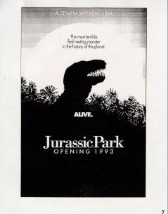 John Alvin - Jurassic Park poster - 11