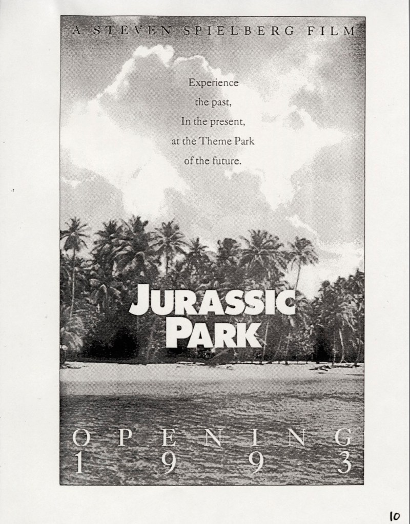 John Alvin – Jurassic Park poster – 12