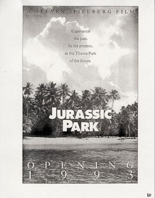 John Alvin - Jurassic Park poster - 12