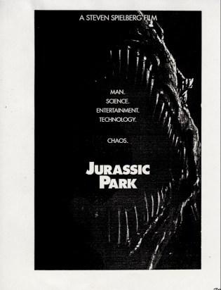 John Alvin - Jurassic Park poster - 6