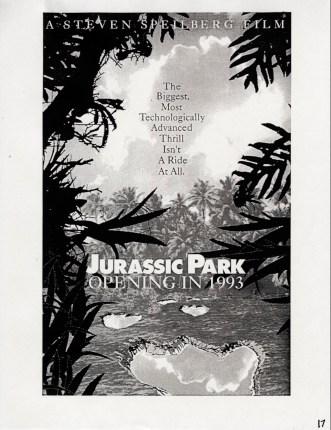 John Alvin - Jurassic Park poster - 7