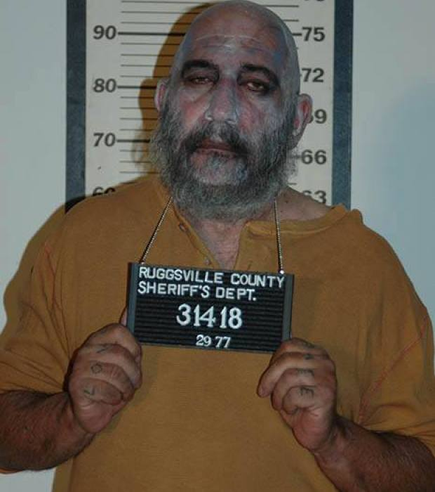 Rare Captain Spaulding Mugshot From Rob Zombie's 'The ...