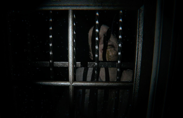 the horror story of domestic evil Vhs is a first person horror game where the player can change the frequency of the camera to reveal either the environment or the monsters but only one at a time.
