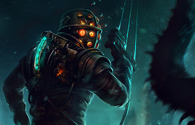 Playing In The Fall Wallpaper Dead Space Meets Bioshock And Makes Me Whole Bloody