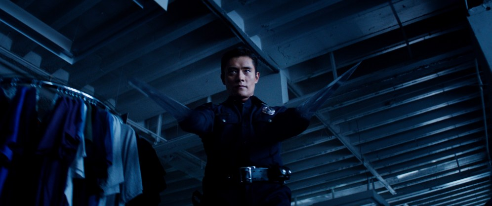 Byung-hun Lee plays T-1000 in Terminator Genisys from Paramount Pictures and Skydance Productions.