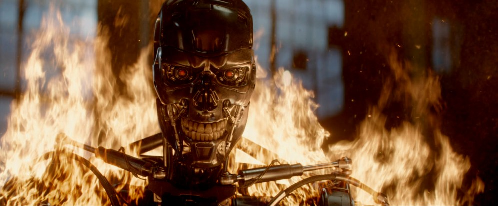 Series T-800 Robot in Terminator Genisys from Paramount Pictures and Skydance Productions.