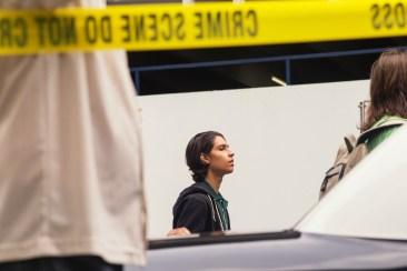 Lorenzo James Henrie as Chris - Fear The Walking Dead _ Season 1, Episode 2 - Photo Credit: Justina Mintz/AMC