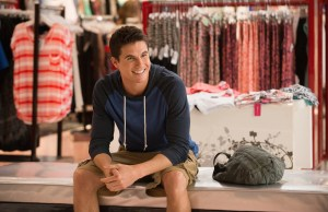 Robbie Amell in The DUFF, to be released on February 20th by eOne Films.
