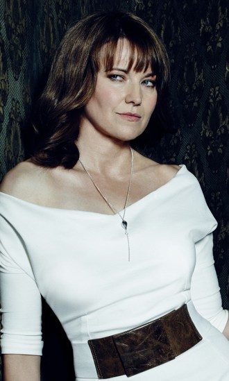 Lucy Lawless as Ruby in the Starz series ASH VS EVIL DEAD