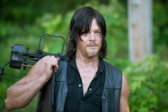 Norman Reedus as Daryl Dixon - The Walking Dead _ Season 6, Episode 1 - Photo Credit: Gene Page/AMC