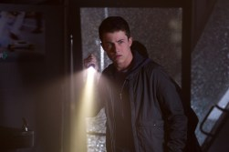 """Dylan Minnette in Columbia Pictures' """"Goosebumps,"""" starring Jack Black."""