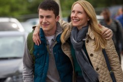"""Dylan Minnette and Amy Ryan in Columbia Pictures' """"Goosebumps,"""" starring Jack Black."""