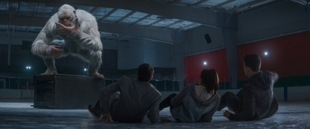 When the creatures from R.L. Stine's (Jack Black) Goosebumps series come to life – including the Abominable Snowman (pictured) – it's up to Stine to team up with three teenagers to get these figments of Black's imagination back in the books where they belong and save the town.