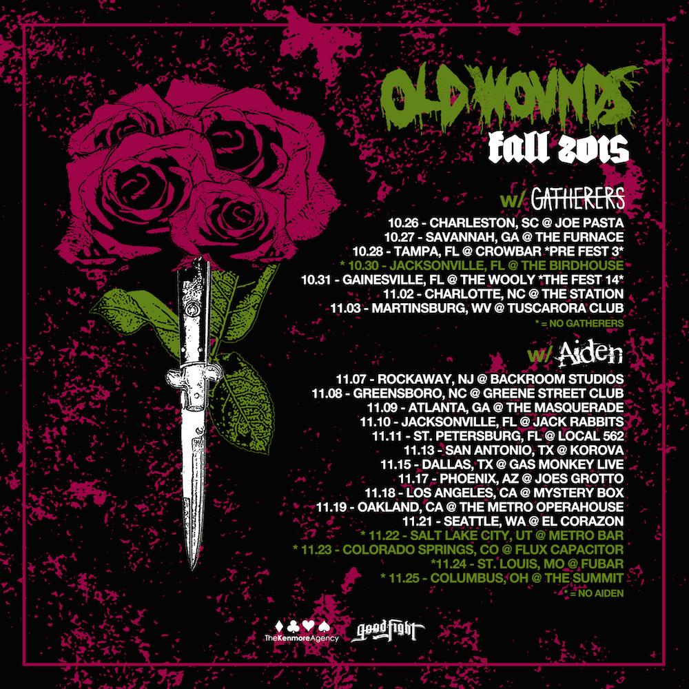 oldwoundstour