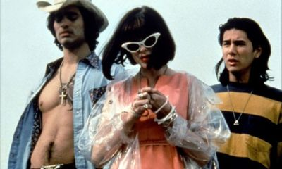 Today is the 20th anniversary of 'The Doom Generation,' starring James Duval, Rose McGowan, and Johnathon Schaech.