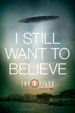 THE X-FILES one-sheet courtesy of Fox TV