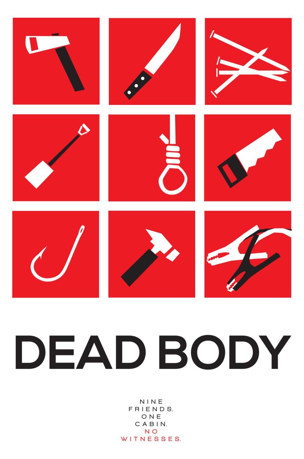 DEAD BODY Poster