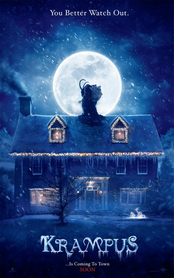 Krampus poster, courtesy of Legendary Pictures