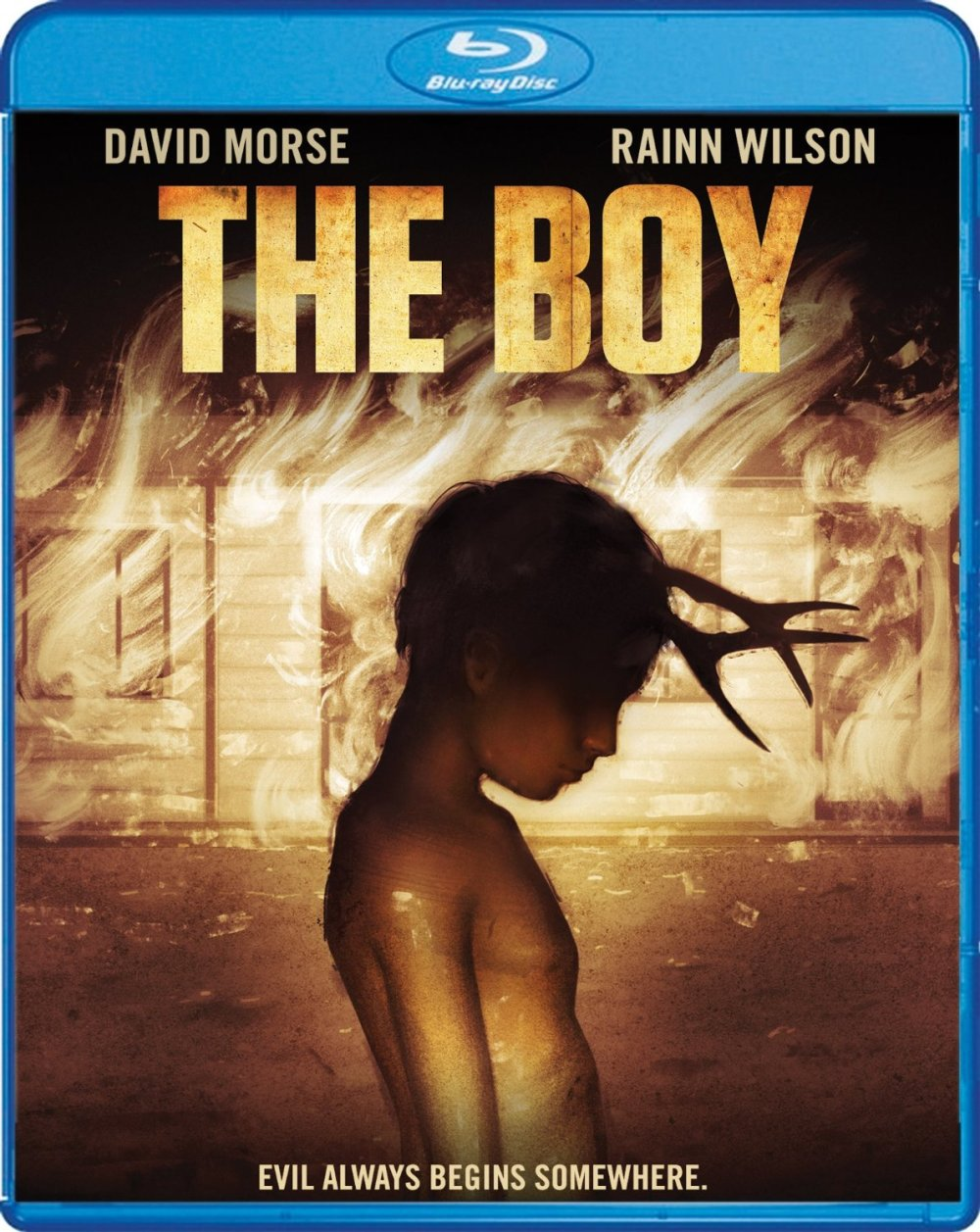 THE BOY cover art courtesy of Scream Factory!