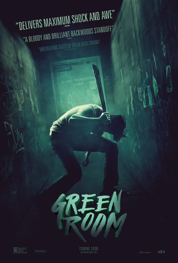 GREEN ROOM poster via A24