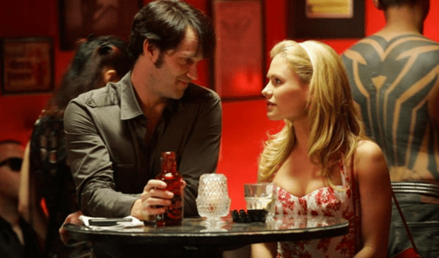 Anna Paquin and Steven Moyer in True Blood