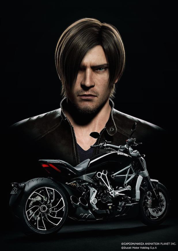Resident-Evil-Vendetta-Kennedy-Motorcylce