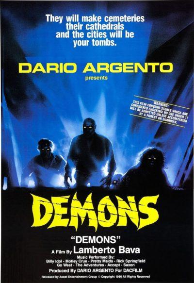 Demons Movie Poster