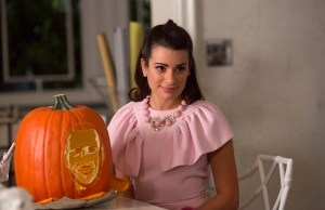 """SCREAM QUEENS: Lea Michele as Hester in the """"Haunted House"""" episode of SCREAM QUEENS airing Tuesday, Oct. 6 (9:00-10:00 PM ET/PT) on FOX. ©2015 Fox Broadcasting Co. Cr: Hilary Gayle/FOX."""