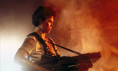 ALIENS, James Cameron, Sigourney Weaver via FOX