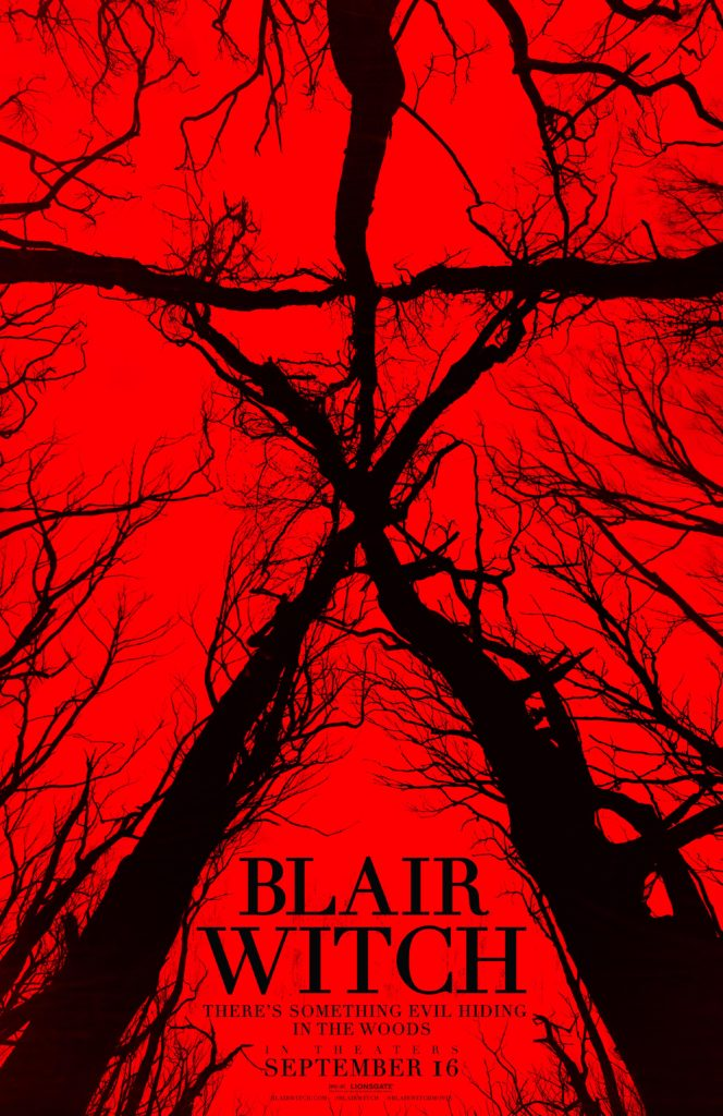 BLAIR WITCH (The Woods) SDCC Comic-Con Poster Courtesy of Lionsgate