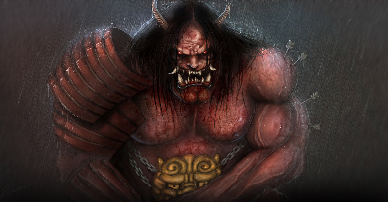 Six Terrifying Japanese Demonic Creatures from Oni - Bloody Disgusting