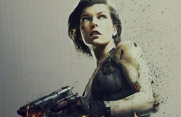 Resident Evil The Final Chapter Movie Clip Alice Awakes: Heated 'Resident Evil: The Final Chapter' Motion Poster