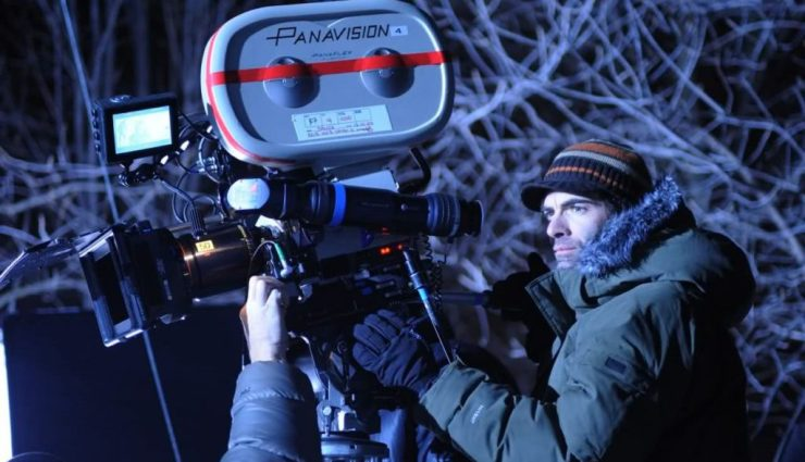 """SP-D8-0752Director VINCENZO NATALI on location during the filming of Warner Bros. Pictures' and Dark Castle Entertainment's science fiction thriller """"SPLICE,"""" a Warner Bros. Pictures release."""