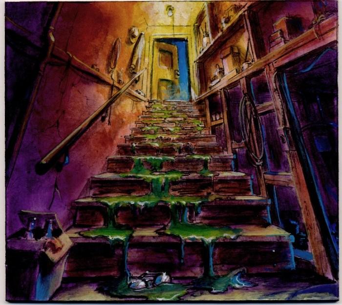 Goosebumps Book Cover Art : Exclusive check out some original goosebumps book