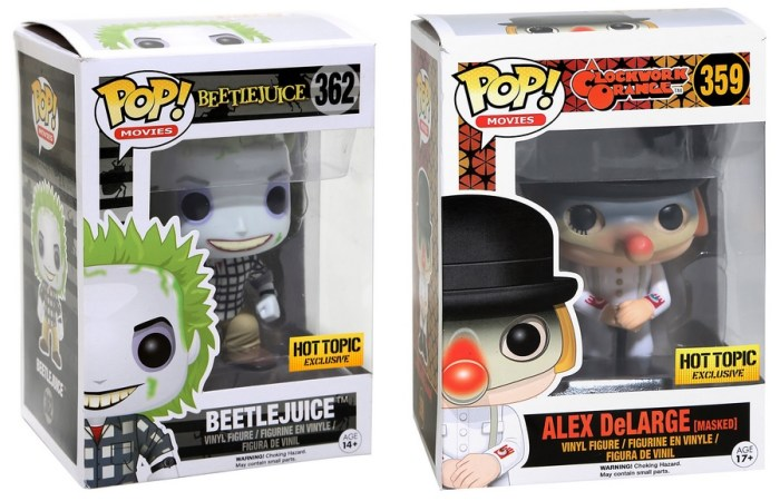 Toys From Hot Topic : Hot topic has a line of exclusive horror pop vinyl toys