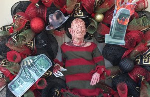 freddy-krueger-wreath
