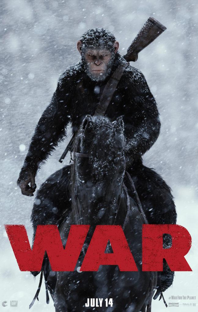 WAR OF THE PLANET OF THE APES image via Twentieth Century Fox