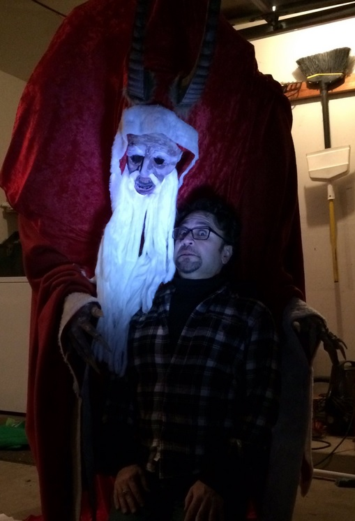This Fan's Massive 'Krampus' Christmas Decoration Wins the ...