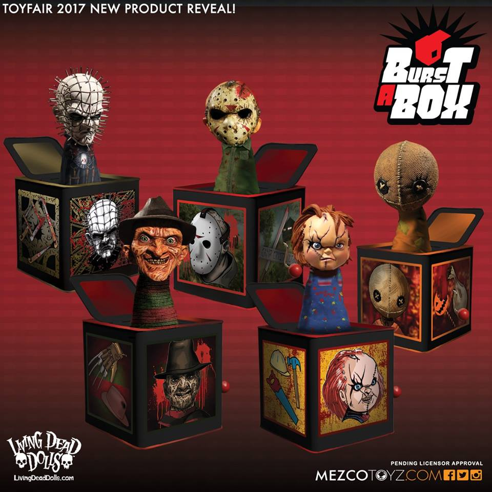 mezco launching horror jack in the box line burst a box bloody disgusting. Black Bedroom Furniture Sets. Home Design Ideas