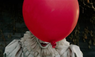 Stephen King's IT Pennywise courtesy of New Line Cinema