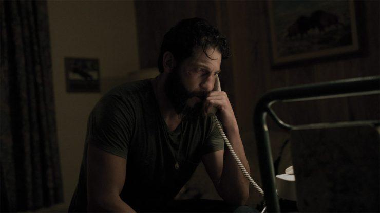 Jon Bernthal as Sam in SWEET VIRGINIA. Photographer: Keri Anderson.