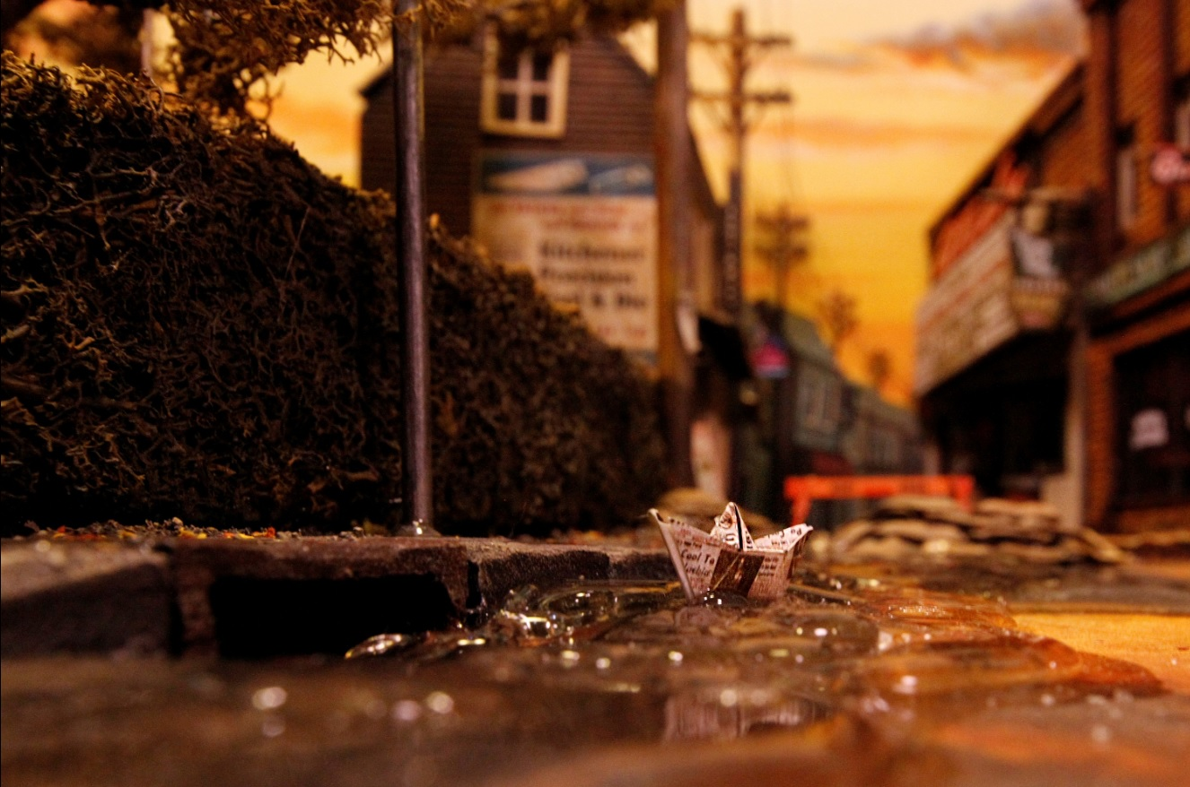 This FanMade Miniature Replica of Derry Maine is