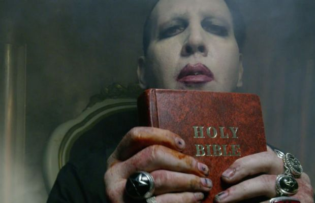 marilyn manson calls upon 39 say10 39 this june bloody disgusting. Black Bedroom Furniture Sets. Home Design Ideas