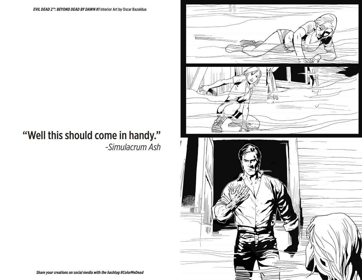 Peek Inside Pages of Upcoming 'Evil Dead 2' Coloring Book